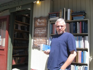 Barts Books, really cool outdoor bookstore in Ojai, CA.