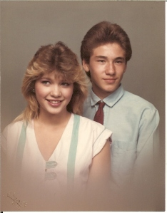 Darrell, Jr and his Big Sister, Rene