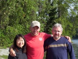 Darrell, Jr. Kim and Darrell, Sr.